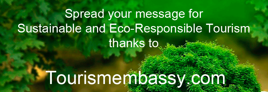 Spread your message tourism eco responsible
