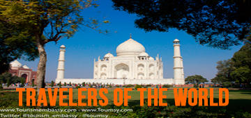 Travelers of the world are in tourismembassy