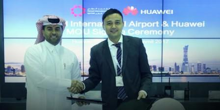 Huawei et l'aéroport international Hamad concluent un partenariat stratégique de co-innovation