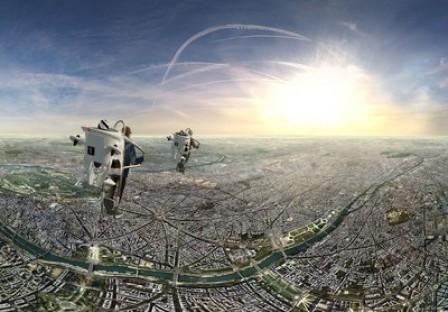 FlyView Takes You Flying Over Paris at One-of-a-Kind Virtual Reality Attraction