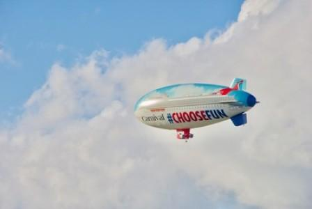 Carnival Cruise Line's #ChooseFun AirShip Flies Into Summer; Kicking Off Month-Long Aerial Tour Of The Northeast