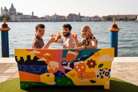 Aperol Celebrates 100 Years of Joy in Padova & Venice