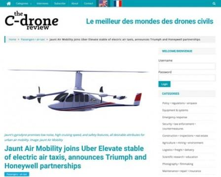 The C-Drone Review®, an Online News Outlet Covering the Civilian Drone Industry, Now Accepting Advertising