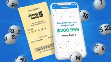 Middlesex County Man Wins $200,000 Jersey Cash 5 Jackpot Using Lottery App