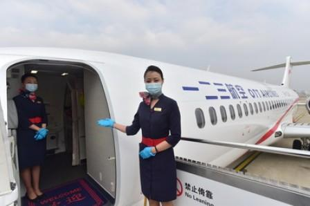 OTT Airlines makes maiden flight from Shanghai to Beijing