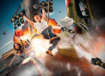 Fast & Furious Thrill Ride At Universal Orlando Resort