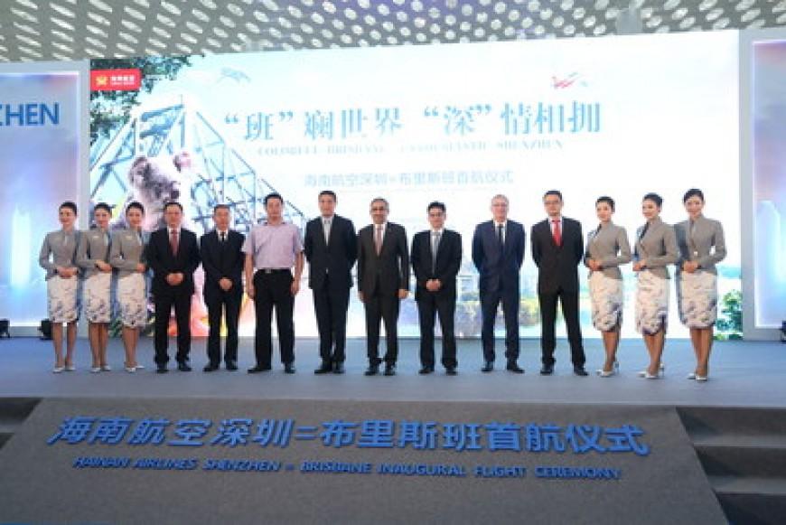 Hainan Airlines inaugura un nuevo servicio directo entre Shenzhen y Brisbane