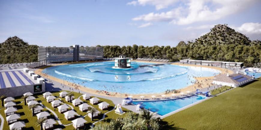 La primera piscina del mundo de olas con varias rompientes entra en la última fase de construcción en Australia