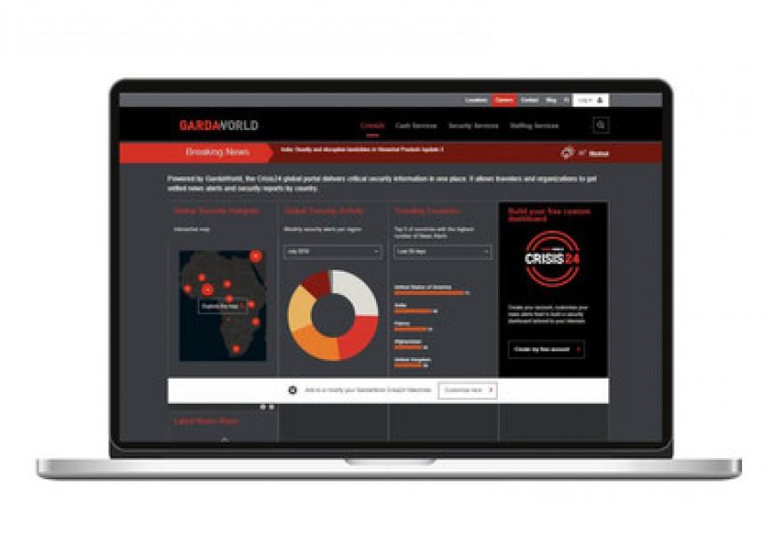 GardaWorld lanza el panel de seguridad mejorado Crisis24