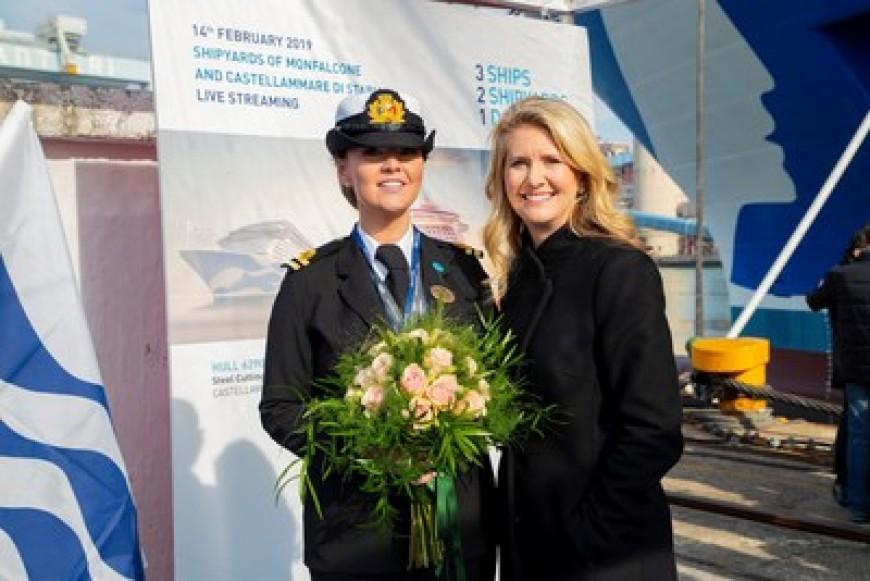 Princess Cruises presenta el progreso en tres nuevos barcos de la clase Royal que están en construcción en el astillero Fincantieri