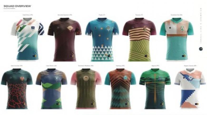 Expedia crea camisetas de fútbol inspiradas en destinos